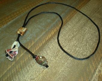 Katie's handmade jewelry - bolo necklace