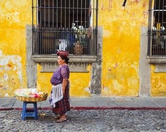 La Mujer, Antigua, Guatemala | 11x14 Print - unmatted