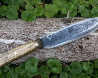 Forged Bushcraft Knife - The Woodlore