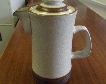 "Denby ""Potter's Wheel"" coffee/tea pot (B4)"
