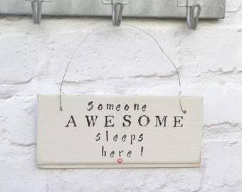 Bedroom door sign | Etsy