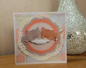 Cute Kitten Card