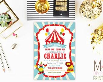 Carnival Invitations, Circus Invitations, Ticket Invitations, Carnival Invitation, Circus Invitation, Carnival Invite, Circus Invite