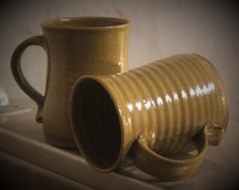 12oz ocre mug