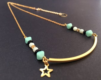 Mint Smile Necklace