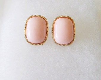 S A L E ••• CLARA Earrings in Salmon