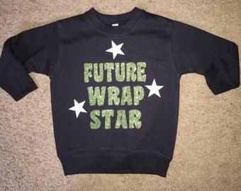 Toddler Future Wrap Star Crewneck Sweatshirt