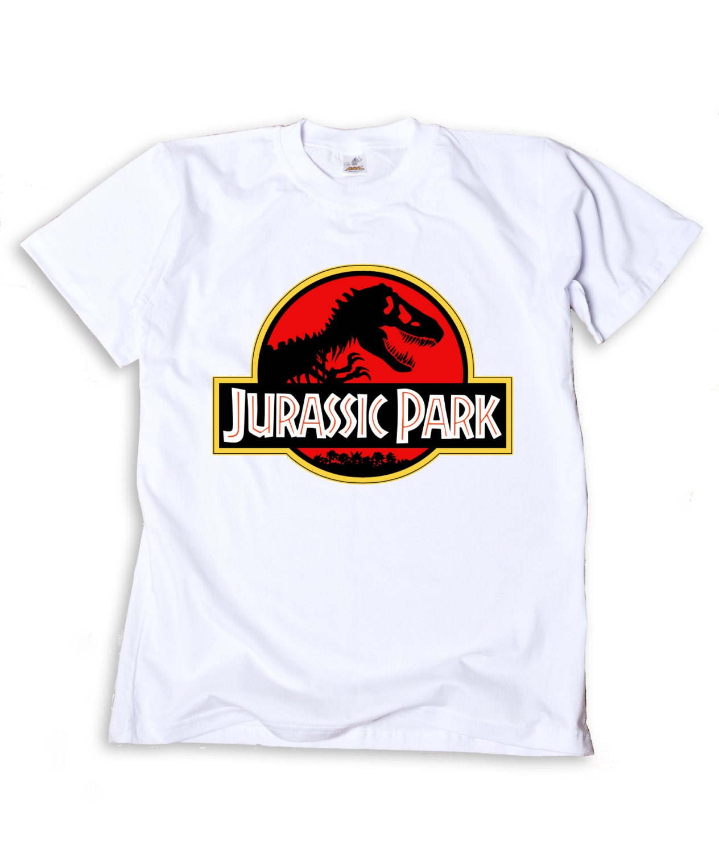 T-shirt design handmade - Jurassic Park Tshirt Hand Printed Shirt Handmade T Shirt Men S Shirt 100 Cotton Unique Design Art