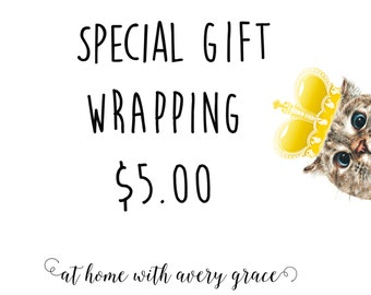 GIFT WRAPPING/ Baby Shower Gift