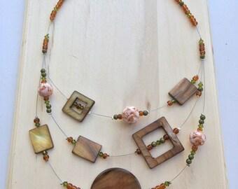 Nature short necklace