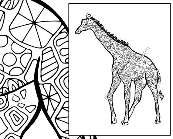 giraffe coloring sheet animal coloring