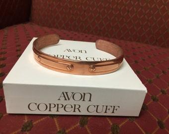 Copper Cuff Vintage NIB Women's Large