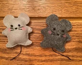 Three Blind Mice Ornaments