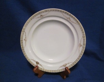 Hand-painted Nippon china plate