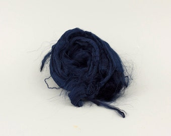 Viscose fiber Color V35, 1.78oz (50gr) for felting and nuno felting, spinning and art batts projects. Free shipping!