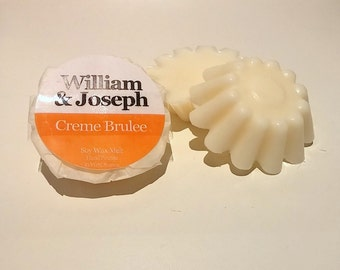 Creme Brulee Highly Scented Soy Wax Melt, Creme Brulee Wax Melt