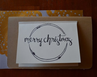 Merry Christmas Note Cards