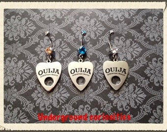 Ouija belly ring ouija board navel ring