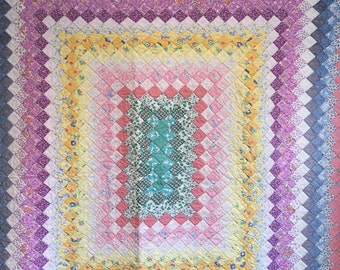 Hand quilted trip around the world
