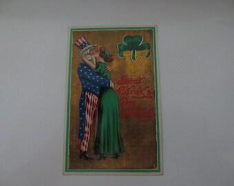 St patricks day postcard    1908