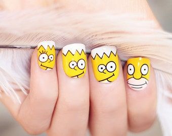 Simpsons-Artificial-Nails