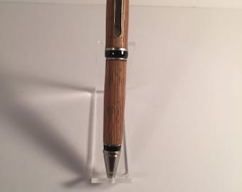 Jim Beam Whiskey Barrel Wood Twist Pen - Ready To Ship!