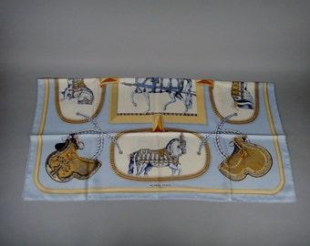 Beautiful Hermes Silk Scarf