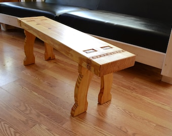 Swedish Country Furniture Pine Bench
