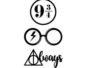 Harry Potter Decals