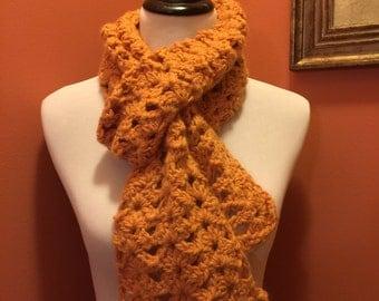Women's Scarf (Orange Sorbet)