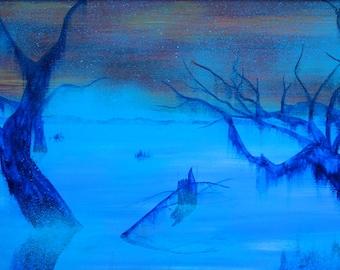 "Painting ""Marais"""