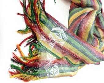 Handwoven Fair Trade Ethiopian Scarf