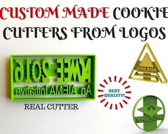 Custom Cookie Cutter From Logo.Brand New.Perfect Gift.Party Favor