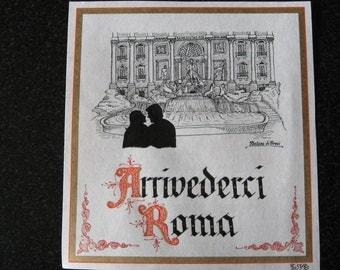 SALE - Arrivederci Roma