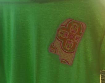 Women's applique tshirt