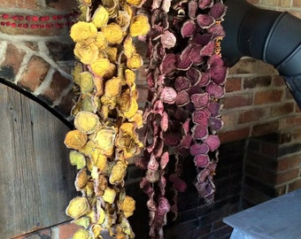 Primitive Dried Beet Garlands~