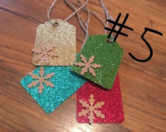 Snow Flake Gift Tags #5