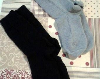 knitted socks, knitting socks, woolsocks, socks, uni color