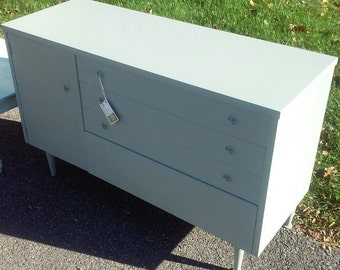 Mid Century Modern Dresser - Hand-Finished Chalk Paint and Wax