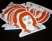 Multipass Die Cut Sticker