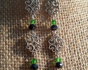 Vintage Celtic Earrings