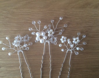 Bridal Pearl Hair Pins