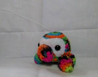 Octopus Amigurumi Crochet Blacklight colors