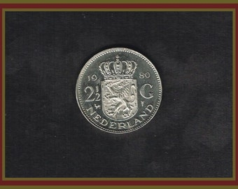 Netherlands Coat of Arms and Juliana Koningin Der Nederland Coin