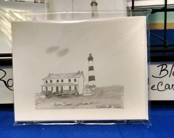 Bodie Island Lighthouse, NC Note card set(5)