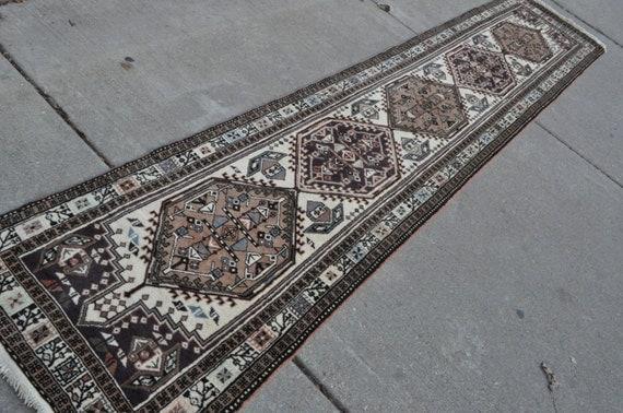Vintage Persian  Sarab Runner – 2'2 x 10'6 - Free shipping!