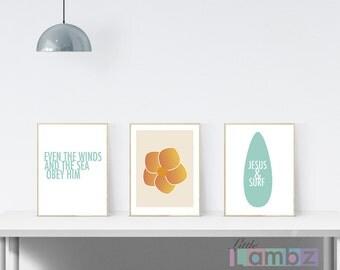 Jesus and Surf fourth edition collection, Christian surf printable's,inspirational printable, flower,Jesus and surf, surf board print, #L102