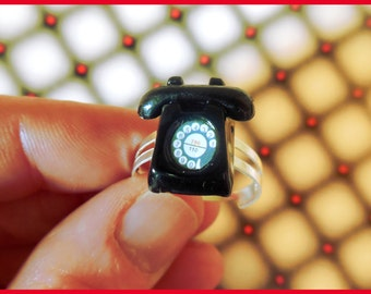 """Ring adjustable """"water, oil"""""""