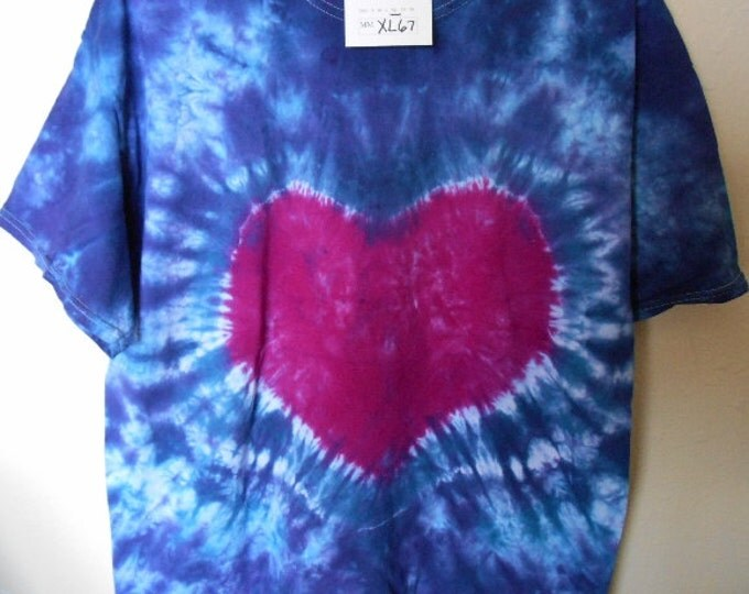 100% cotton Tie Dye T-shirt MMXL67 size XL