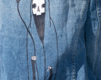 Spacegoth Reaper Custom Jacket
